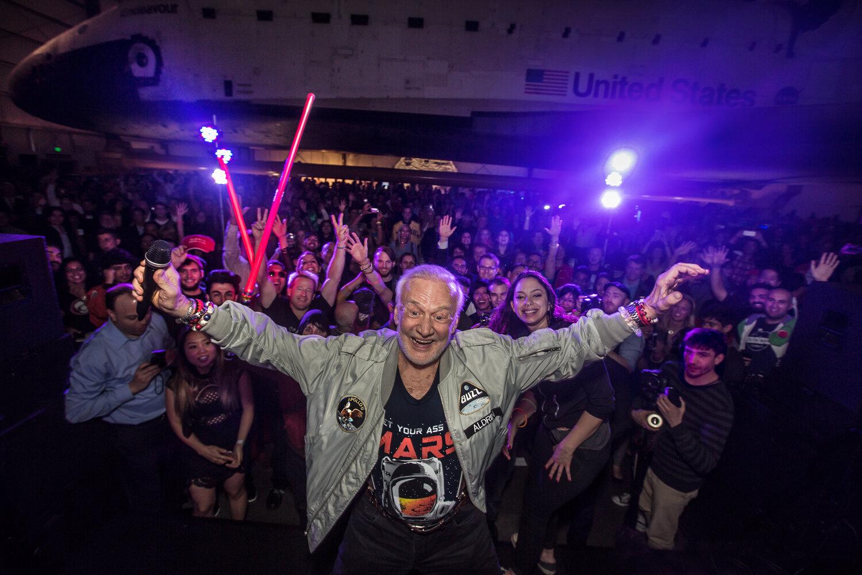 Buzz Aldrin Yuri's Night