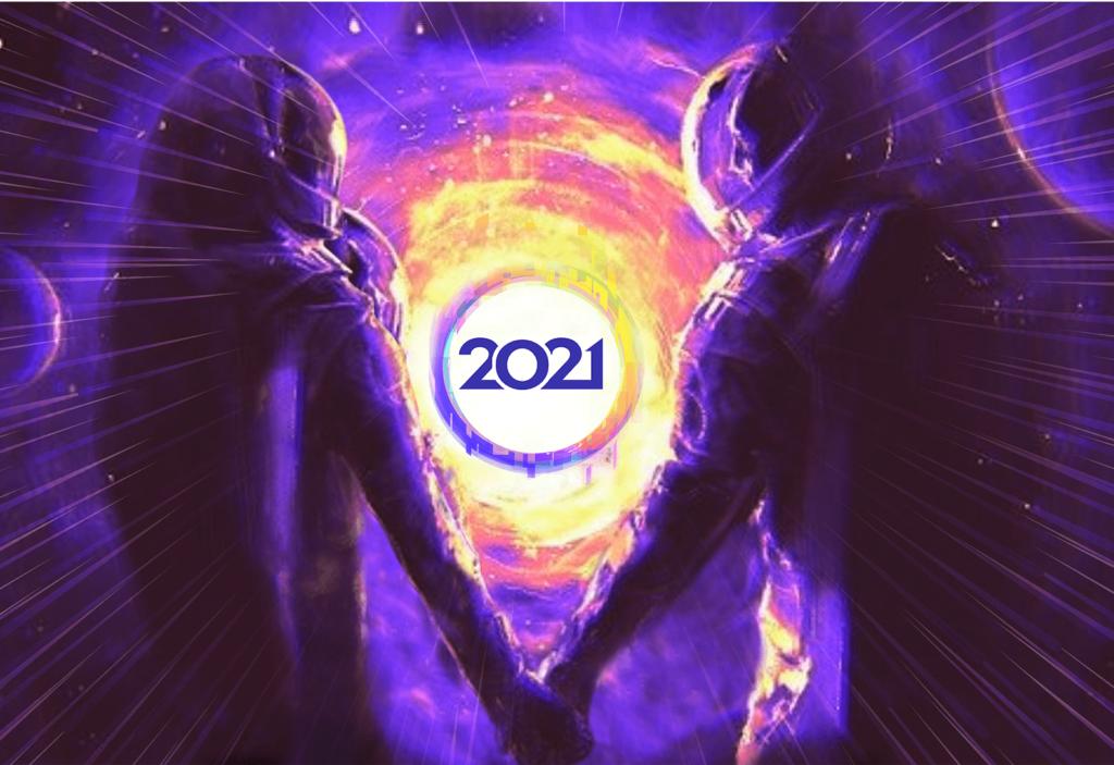 Yuri's Night banner graphic